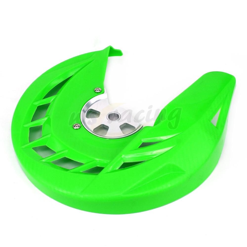 Motos freio dianteiro disco rotor proteção guarda capa protector para kawasaki klx250 KLX 250 08-16 08 09 10 11 12 13 14 15 16