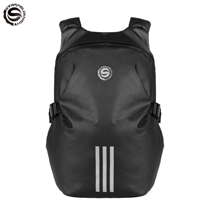 2019 nuevo bolso De Motocicleta Negro Mochila bolsa De equipaje impermeable casco para motocrós De Motocicleta Moto Racing Tank Bags