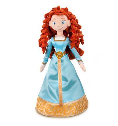 Pixar, película BRAVE, exclusiva 55cm, muñeca de felpa suave, Merida, juguetes de peluche princesa