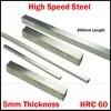 200*40*5 200x40x5 200*50*5 200x50x5 5mm עובי HRC60 HSS מלבן מתכת משעמם בר לטוס חותך חיתוך מחרטה כלי קצת