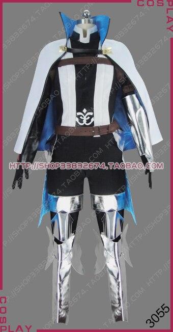 Disfraz de Cosplay de Fate/Extella, Link Moon, War Holy Grail, Saber Twelve Paladins of carlomagne, uniforme S002