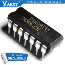10 pièces SN74HC32N DIP14 SN74HC32 DIP 74HC32N 74HC32 IC nouvelle et originale
