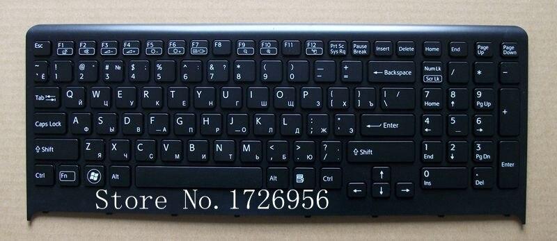 Original NOVO teclado Russo laptop substituição para SONY PCG-81312L F219FC F2 F21 F22 F23 F24 frete grátis