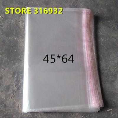 O celofane resealable claro/bopp/poli ensaca 45*64 cm veste o selo autoadesivo 45*64 cm da embalagem do saco transparente dos sacos de opp