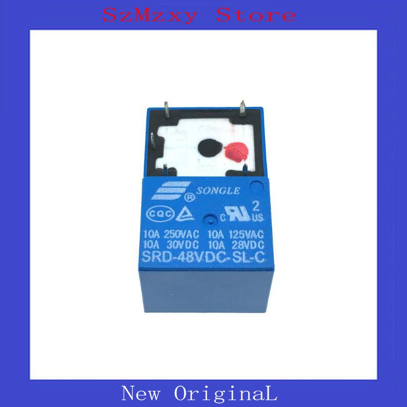 5 unids/lote relé de SRD-48VDC-SL-C SRD-06VDC-SL-C 6V 48V 48V 3V 36V 36V DIP5