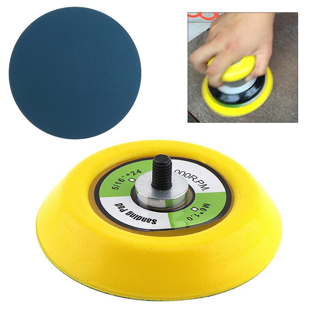 Орбитальная шлифовальная подушка двойного действия, 3 дюйма, 12000 об/мин, с гладкой поверхностью для полировки и шлифовки