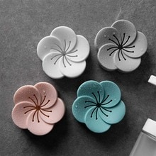 Flower Shape Air Fresh Box Car Toilet Incense Storage Box Eliminate Odors Smell Freshener Aromatherapy Box Deodorizer 1piece
