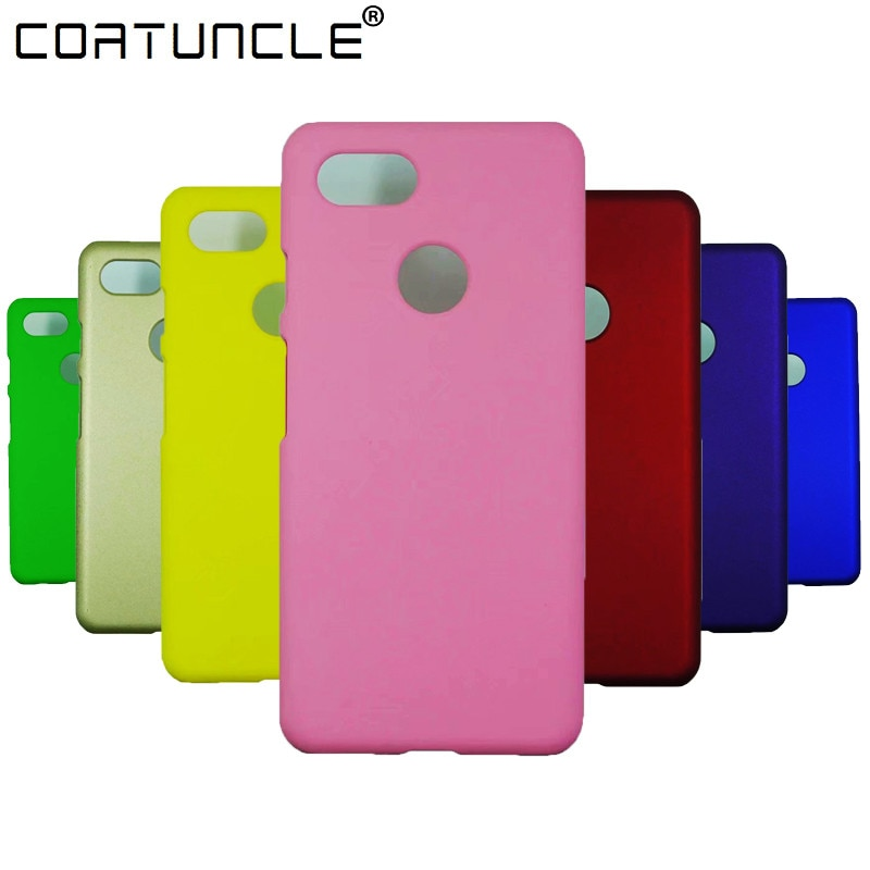 Phone Case For Fundas Google Pixel 3 Case For Coque Google Pixel 3 XL Case Candy Color Hard plastic PC cover phone Cases