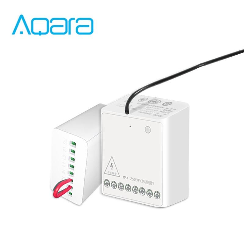 Neue Aqara Zwei-weg Module Control Doppel Kanäle AC Motor Wireless Controller Für Smart Home