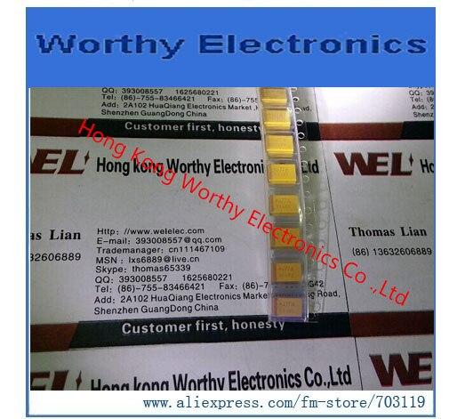 Envío gratis 10 unids/lote TPSE477M010R0100 TPSE477M010R tapa TANT 470UF 10V 20% de 2917
