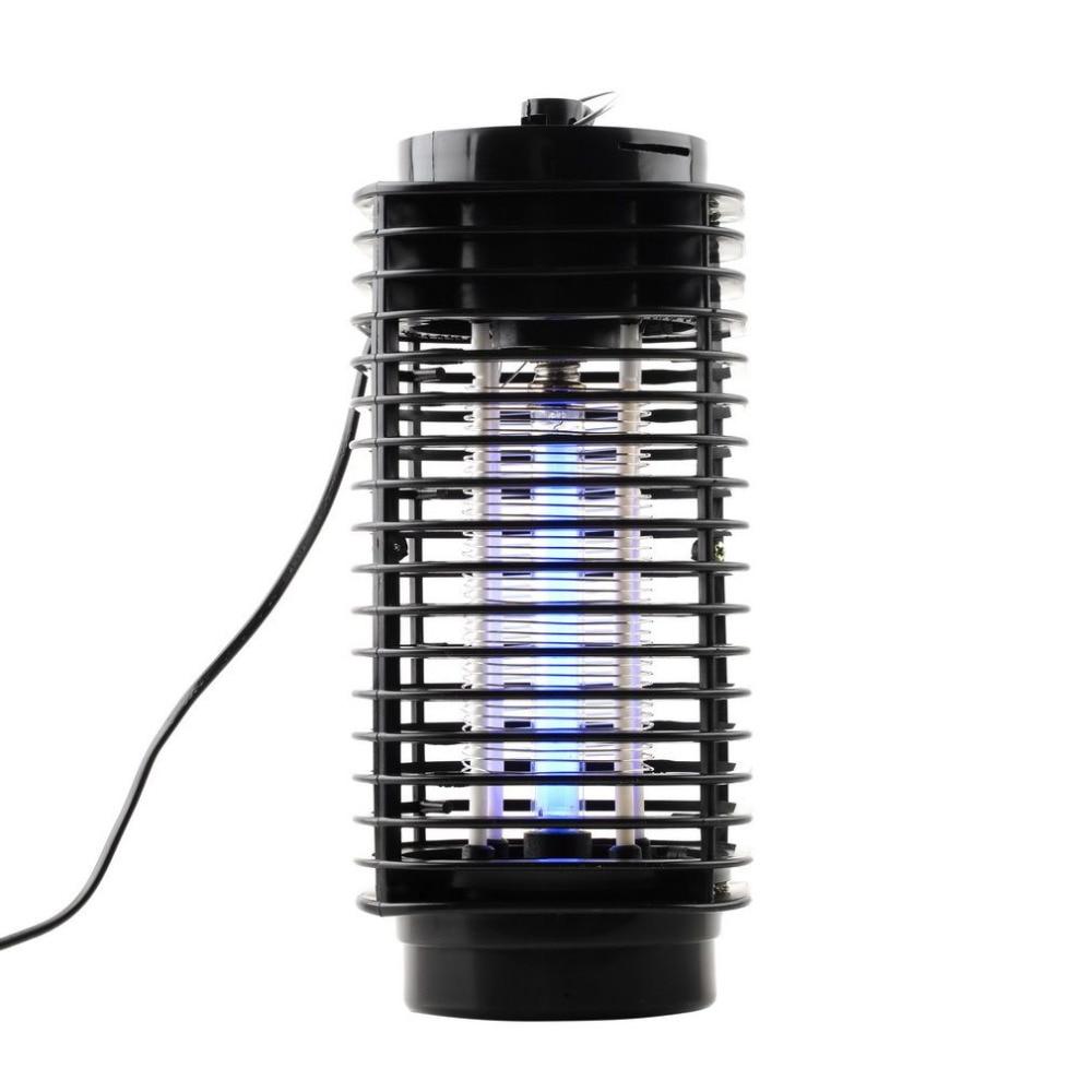 Lámpara insecticida matamosquitos eléctrico de 110V/220V, luz nocturna, insectos voladores, práctica trampa antimosquitos, enchufe europeo de EE. UU.