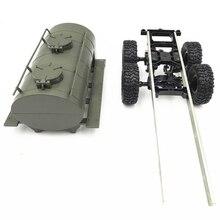 Öl Tank Trailer Chassis Reserverad Kit für WPL 1/16 B36 B-36 B36K B36KIT Military Lkw RC Auto Ersatzteile DIY RC Auto Accessoy