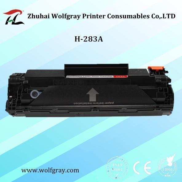 1PK Compatible para HP CF283A CF283 283A 283 83A recargable cartucho de tóner LaserJet Pro MFP M125nw M125rnw M127fn M127w M126FN