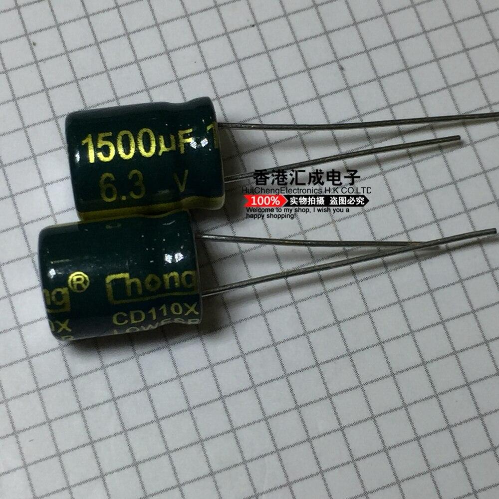 6,3 V 1500UF 1500UF 6,3 V 8X12MM DIP2 condensador electrolítico nuevo original