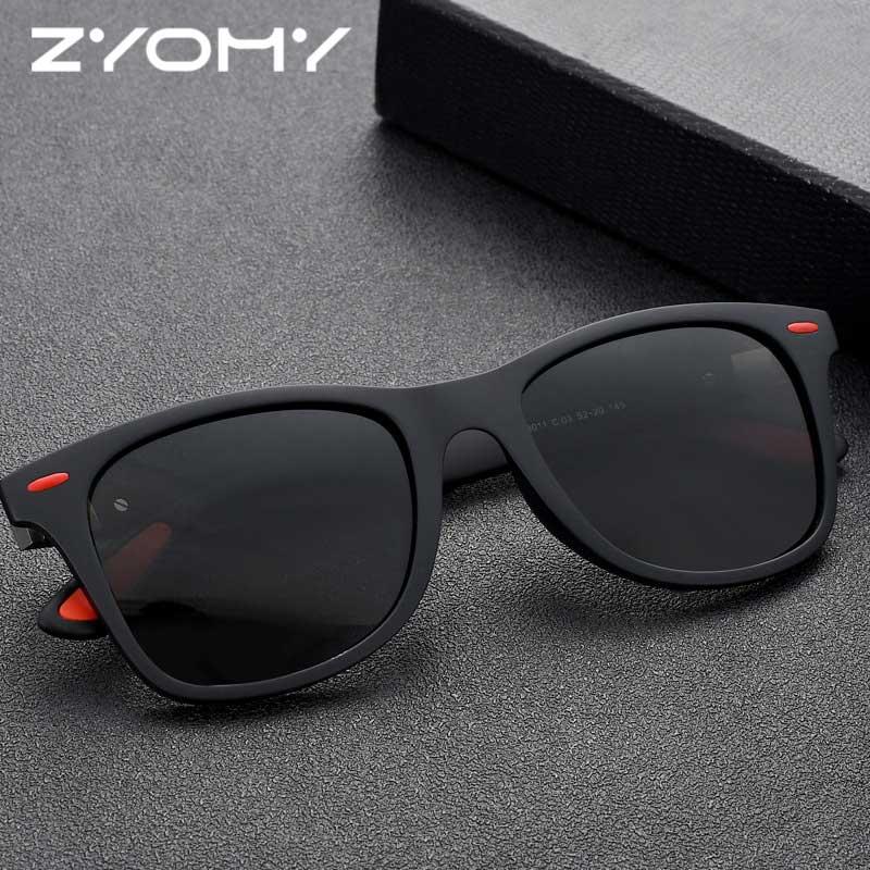 Q модные дикие поляризованные солнцезащитные очки в квадратной оправе брендовые дизайнерские очки для вождения классические спортивные очки UV400 темные очки