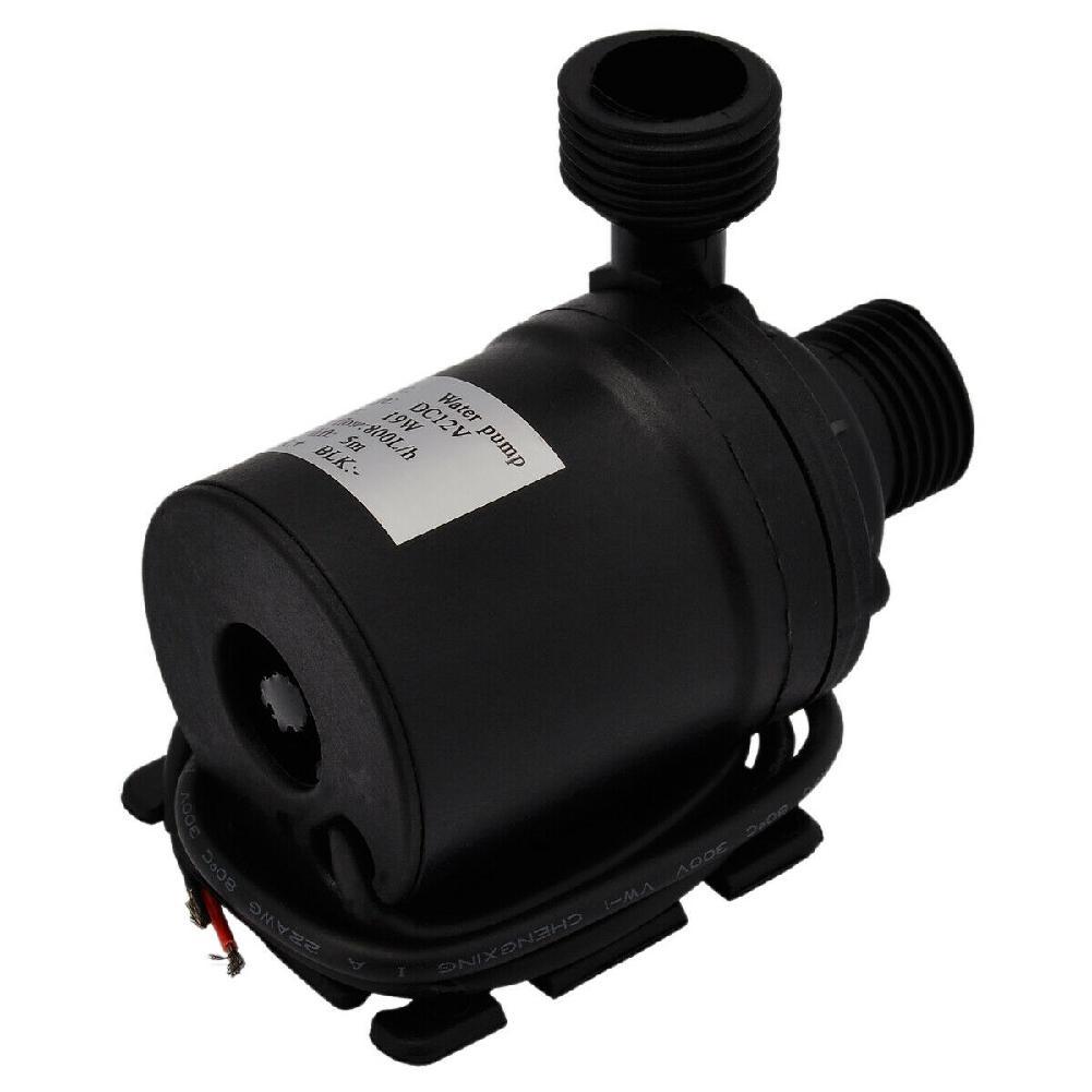 Mini bomba de agua sumergible para piscinas, Motor Solar sin escobillas, cc 12V 800l/H