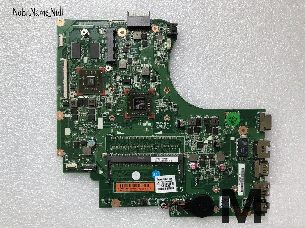 747272-001 747272-501, 747272-601 para HP 14-D 245 G2 serie placa base de computadora portátil E1-2100 CPU