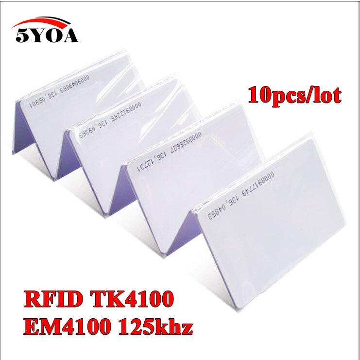 10 шт. 5YOA EM4100 TK4100 125 кГц идентификационный брелок RFID-метки карта контроля доступа брелок для ключей маркерное кольцо Бесконтактный чип