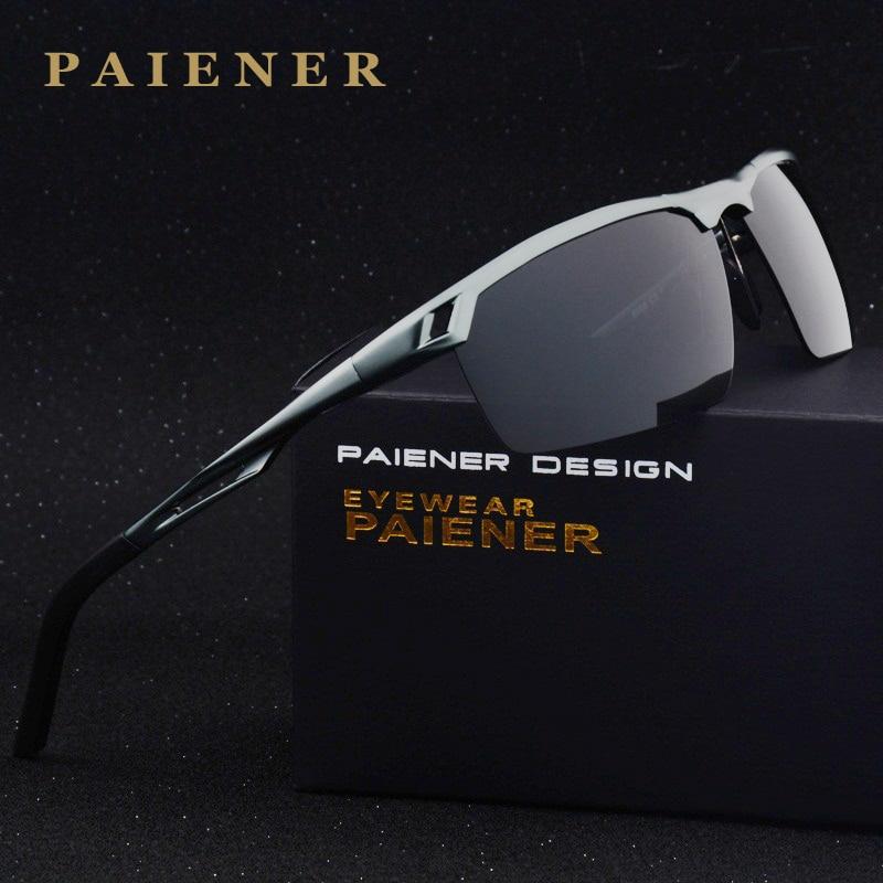 Nuevas gafas de sol polarizadas Polaroid para hombres, gafas de sol de conducción para hombres, gafas de sol de diseñador de marca, gafas de sol masculinas de moda