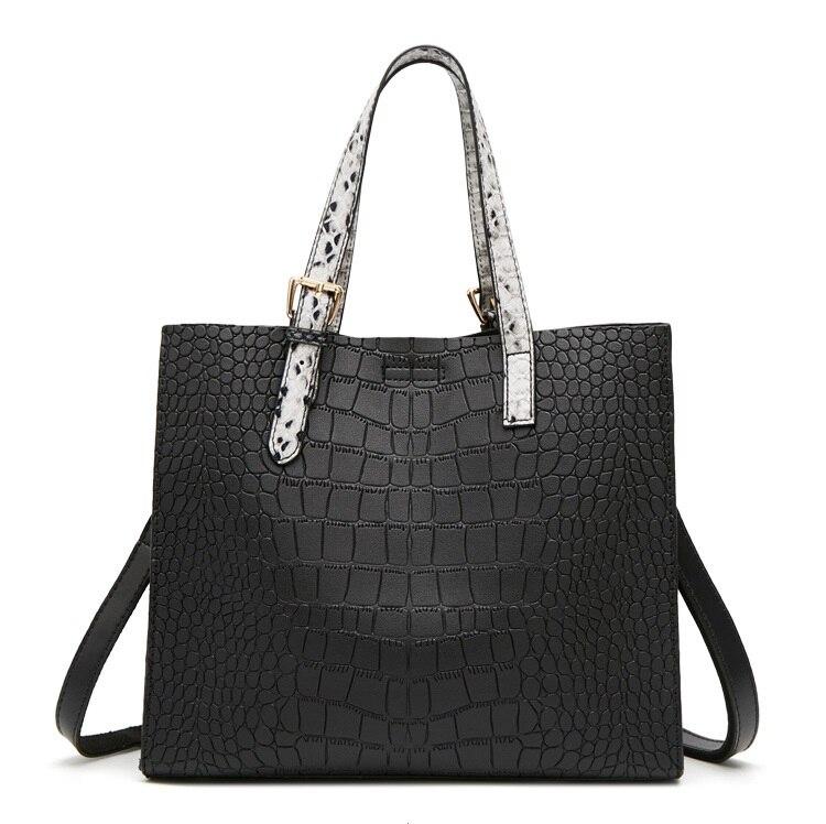 Women's Genuine Leather Handbag Large Leather Designer Big Tote Bags for Women 2020 Luxury Shoulder Bag Famous Brand New C1062