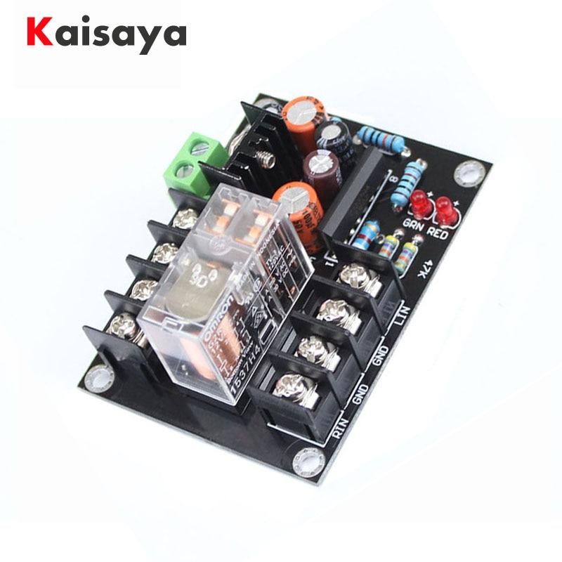 Tablero de protección del altavoz 2,0 amplificador de audio relé Omron protección contacto de plata altavoz amplificador de AC12-18V A9-006