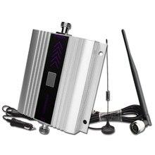 Amplificateur de Signal cellulaire GSM 900MHZ 60dB Gain voiture téléphone portable 2G amplificateur LCD affichage avec fouet Anrenna pour utilisation de véhicule-