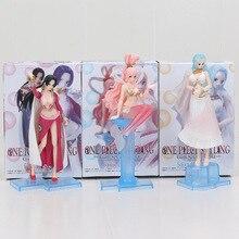 Boa Hancock Nefeltari Vivi Shirahoshi Creator, sélection de figurines daction, jouets pour filles, 13-18cm