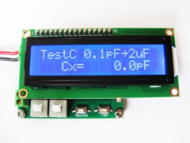 Medidor LC multifunción de alta precisión capacitancia e inductancia ESR