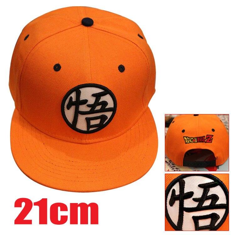 Dragon Ball Z gorras de sol ajustable de algodón de alta calidad cosplay