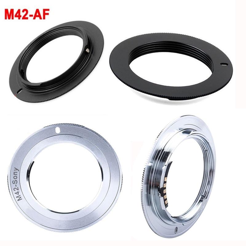 Foleto-lente M42 A Alpha A AF Minolta MA, Chip de montaje AF,...