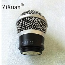 Cabeza de cápsula de cartucho de reemplazo de micrófono de alta calidad 5 uds para Shure RPW110 PG58 MICRÓFONO INALÁMBRICO