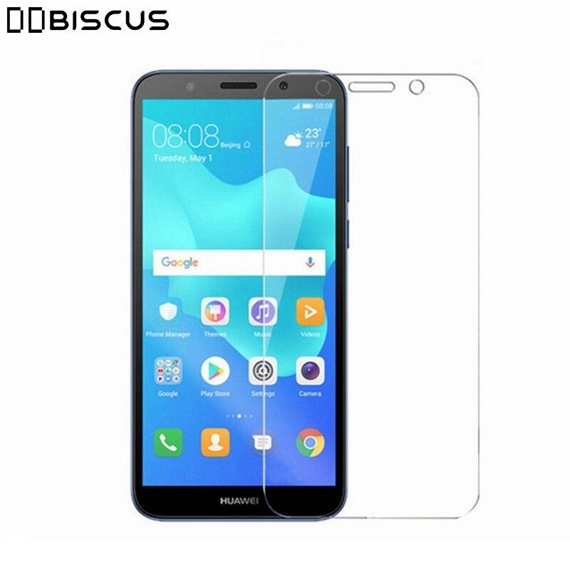 Templado de vidrio para Huawei Y5 primer 2018 Y5 Lite Y 5 2018 DRA-LX5 DRA-L21 DRA-LX2 Honor 7S 7 Protector de pantalla película protectora