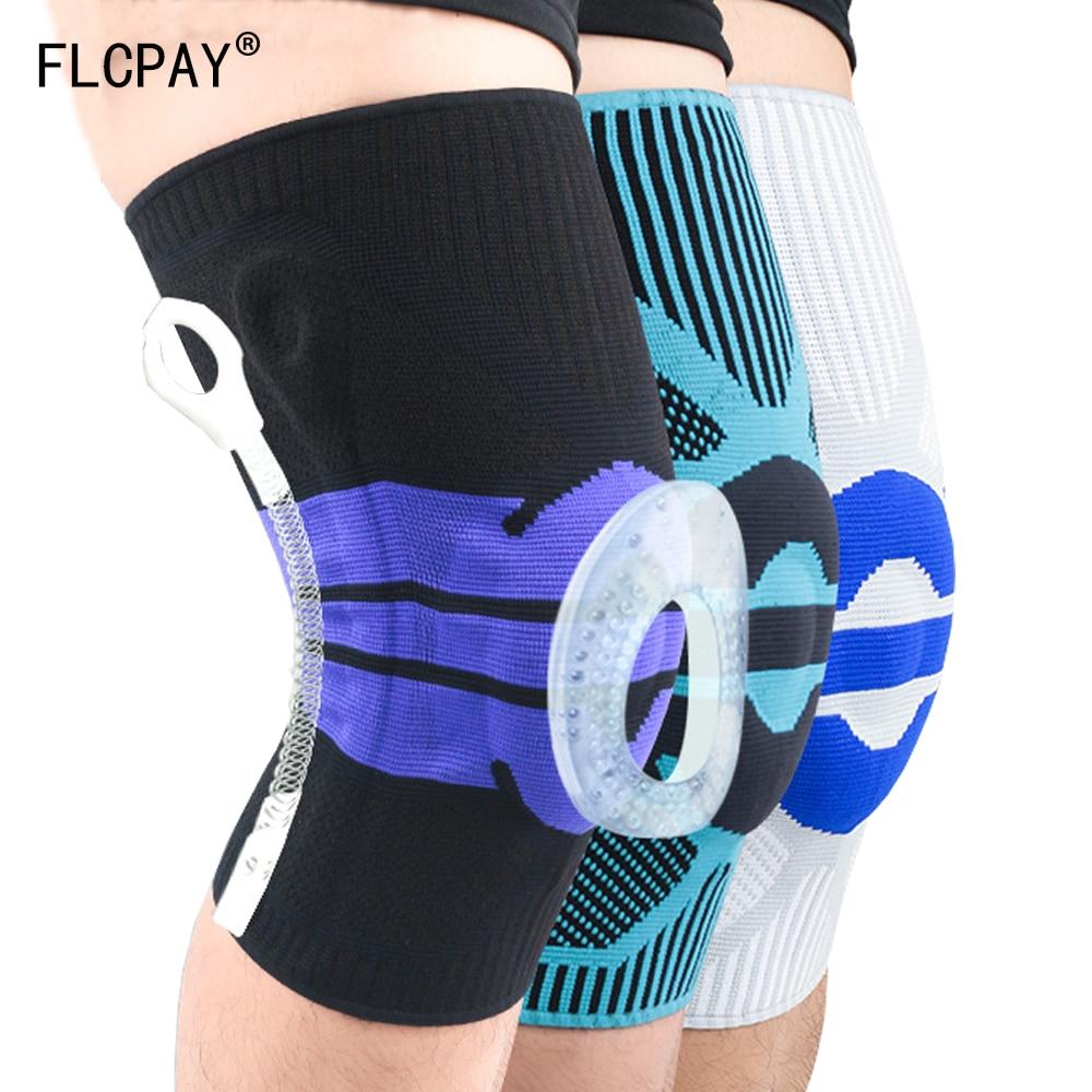 1Pcs 2019 New Basketball Shooting Sport Safety Knee pad Honeycomb Pad Bumper Brace Kneepads Protective Knee Pads rodilleras
