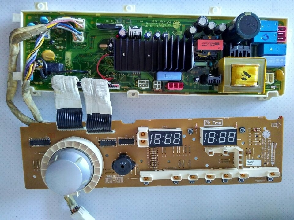 Lavadora de tambor LG original WD-C12115D A12115D Placa de ordenador 6870EC9281B placa base