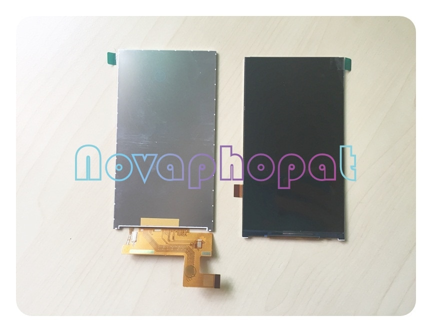 Novaphopat prueba Monitor LCD para BQ BQS-5020 BQS 5020 BQ-5020 huelga cambio de pantalla LCD + número de seguimiento