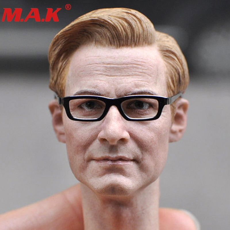 1/6 échelle KM18-1 homme homme garçon tête sculpte modèle Colin Firth tête sculpte Harry Hart tête pour 12 figurine garçon