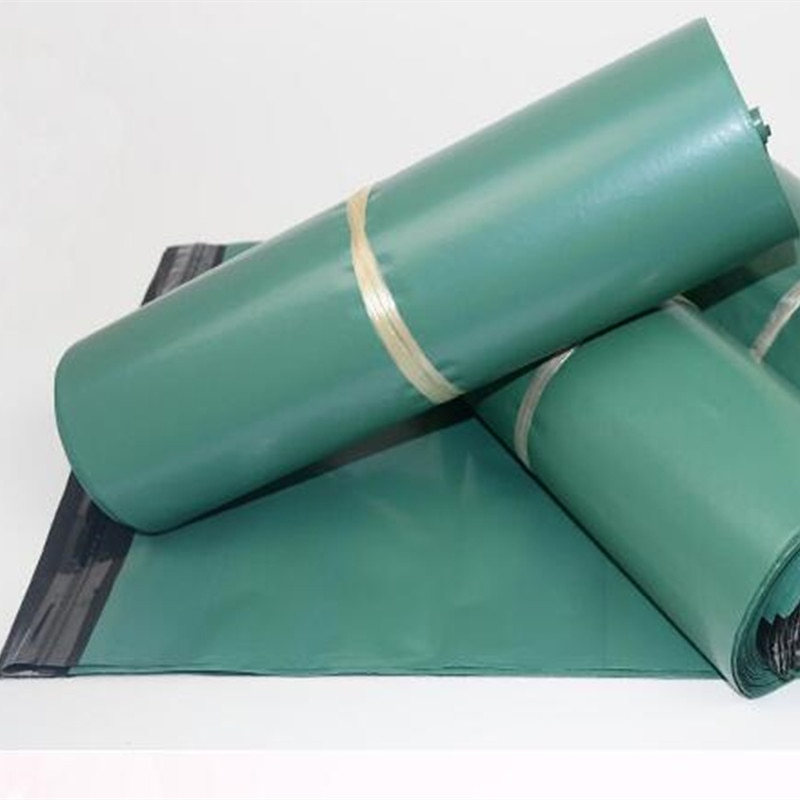 10pcs/Lot The Green Logistics Courier Bag Courier Envelope Shipping BagS Mail Bag Envelope Self Adhesive Seal Plastic Pouch