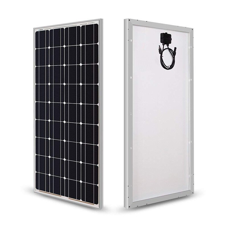 100w painel solar monocristalino célula solar 12 v têmpera vidro pv painéis fabricantes em china 200w 300w 400w a 1000w