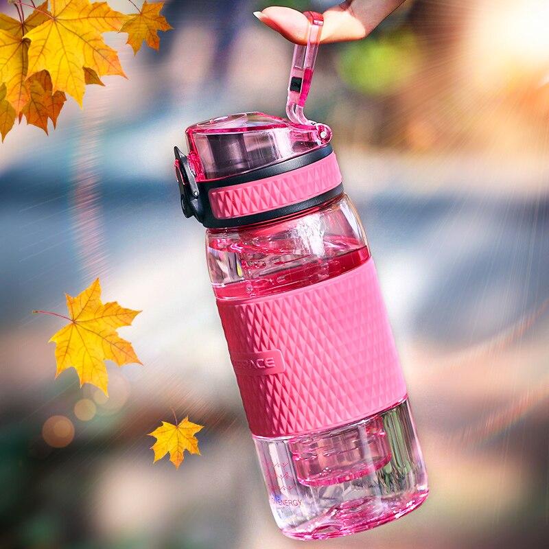 Creative Fruit Juice Infuser Water Bottle 350ml Tritan Plastic Portable Lemon Juice Bottle For Water Tour Shaker Sport Drinkware