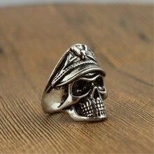 Мужское и женское кольцо с орлом, Кепка с орлом в стиле панк, 4RD213