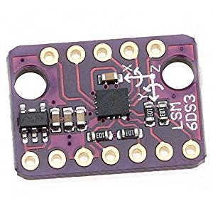 Акселерометр с 3 Осями от 1,71 в до 5 В LSM6DS3 SPI/I2C, 3-осевой гироскоп, 6-осевая инерционная секционная плата, встроенный температурный датчик