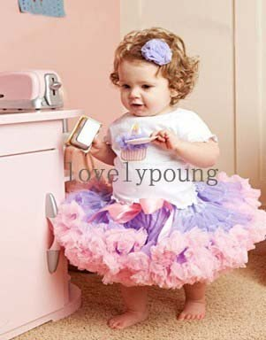 Niñas Petti falda niños ropa tutú falda esponjosa niños ropa de fiesta de cumpleaños