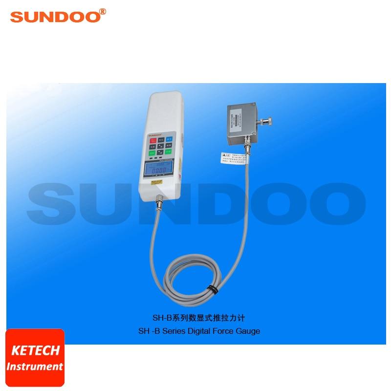50N Digital Pressure Push Pull Force Gauge Tester Sundoo SH-50B