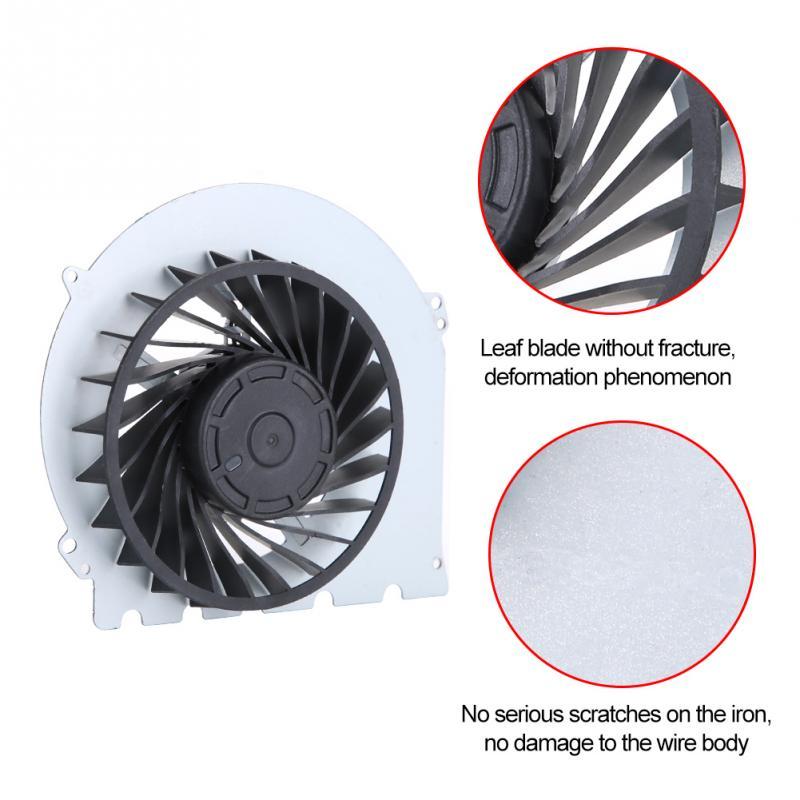 Ventilador de refrigeración interno de repuesto integrado para Sony Playstation PS4 2000 piezas de 500GB