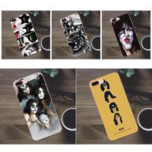 Bixedx Baiser Rock États-unis TPU nouveauté Pour Apple iPhone 4 4s 5 5C SE 6 6 S 7 8 Plus X Galaxy A3 A5 J1 J2 J3 J5 J7 2017