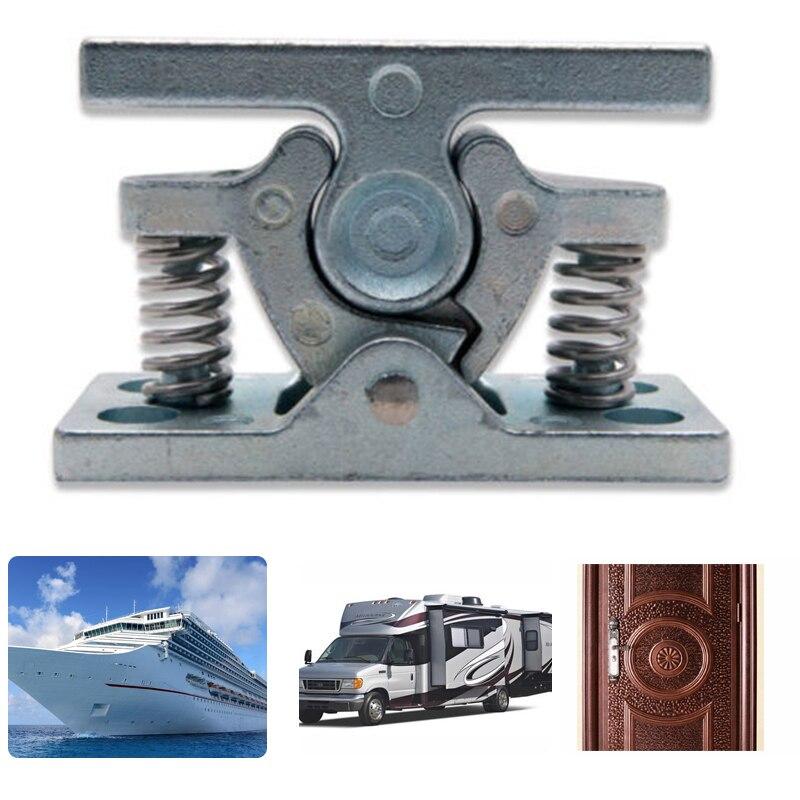 1 piezas de aleación de Zinc de paradas de puerta retenedor al tapón de la puerta para caravanas y autocaravanas, barco de puerta de Hardware de Clip