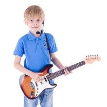 Enfants guitare Instruments de musique électroniques jouet éducatif pour début jouet éducatif Instrument de musique enfants cadeau