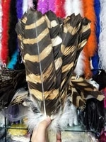 wholesale perfect 50pcs high quality scare natural tiger eagle feathers 35 40cm14 16inch decorative diy stage performance