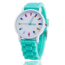 Vansvar marque gelée Silicone montre Relogio Feminino mode femmes montre-bracelet décontracté luxe montres vente chaude