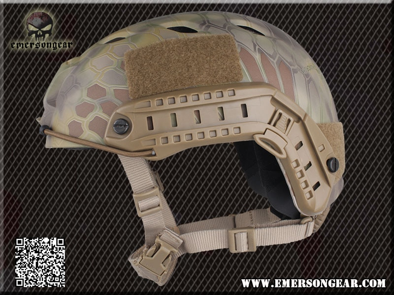 Casque tactique EM5659 casque balistique haute coupe XP casque de cyclisme de sport matériel ABS pour Airsoft Paintbal 8 couleurs M L